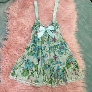 Victoria's Secret floral babydoll